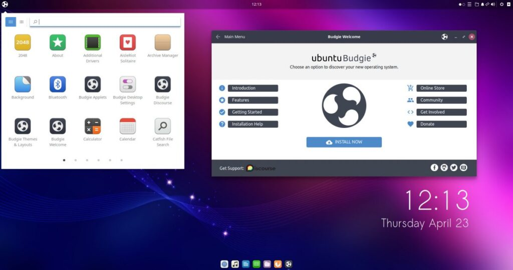 ubuntu budgie 20.10