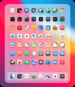 white sur icon theme