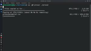 advanced copy progress bar example