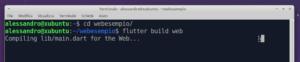 flutter build web