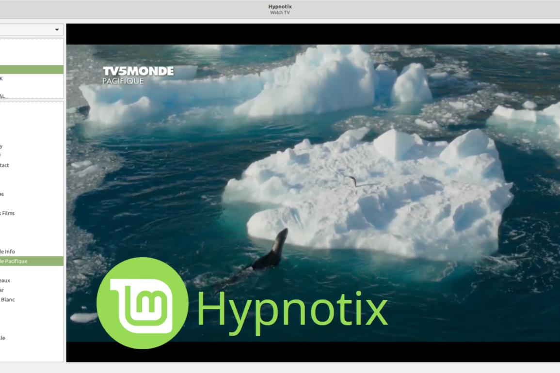 linux mint hypnotix open source iptv player