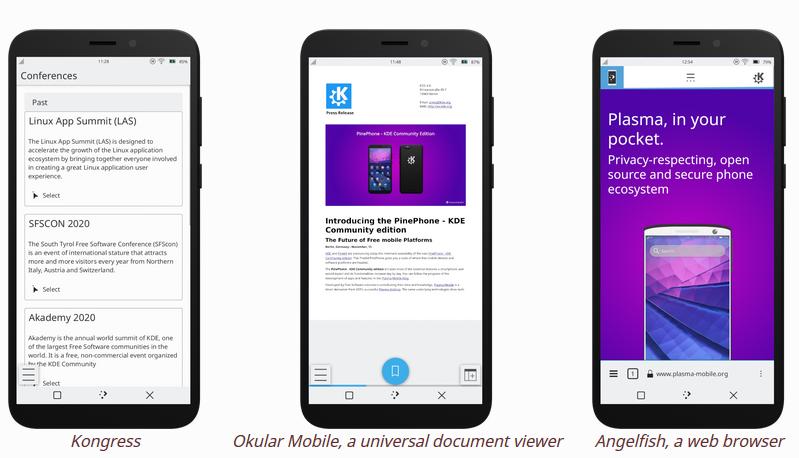 Pine64, al via i pre-ordini per il PinePhone con KDE Plasma Mobile UI
