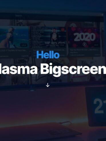 kde plasma bigscreen