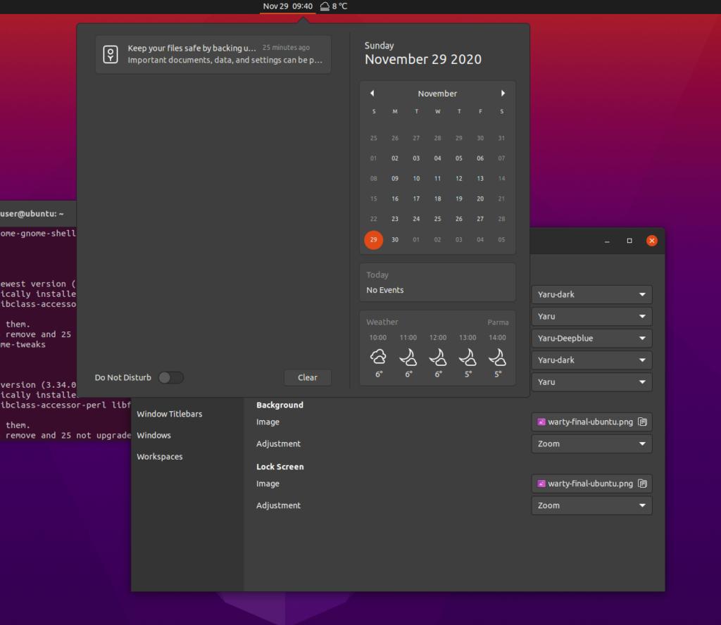 ubuntu darker yaru dark