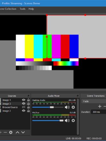 open broadcast studio nginx server