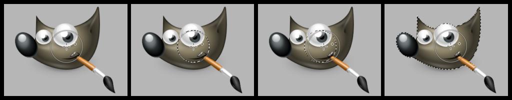 gimp 2.99.4 Paint select tool