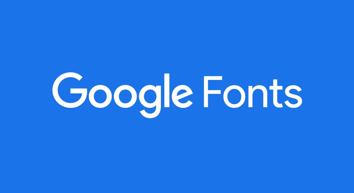 google fonts font manager