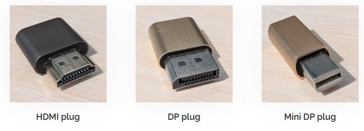 deskreen display dummy plug