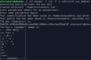dropbear client key gen