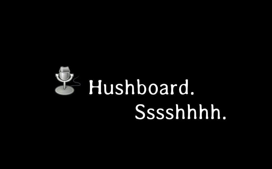hushboard microfono