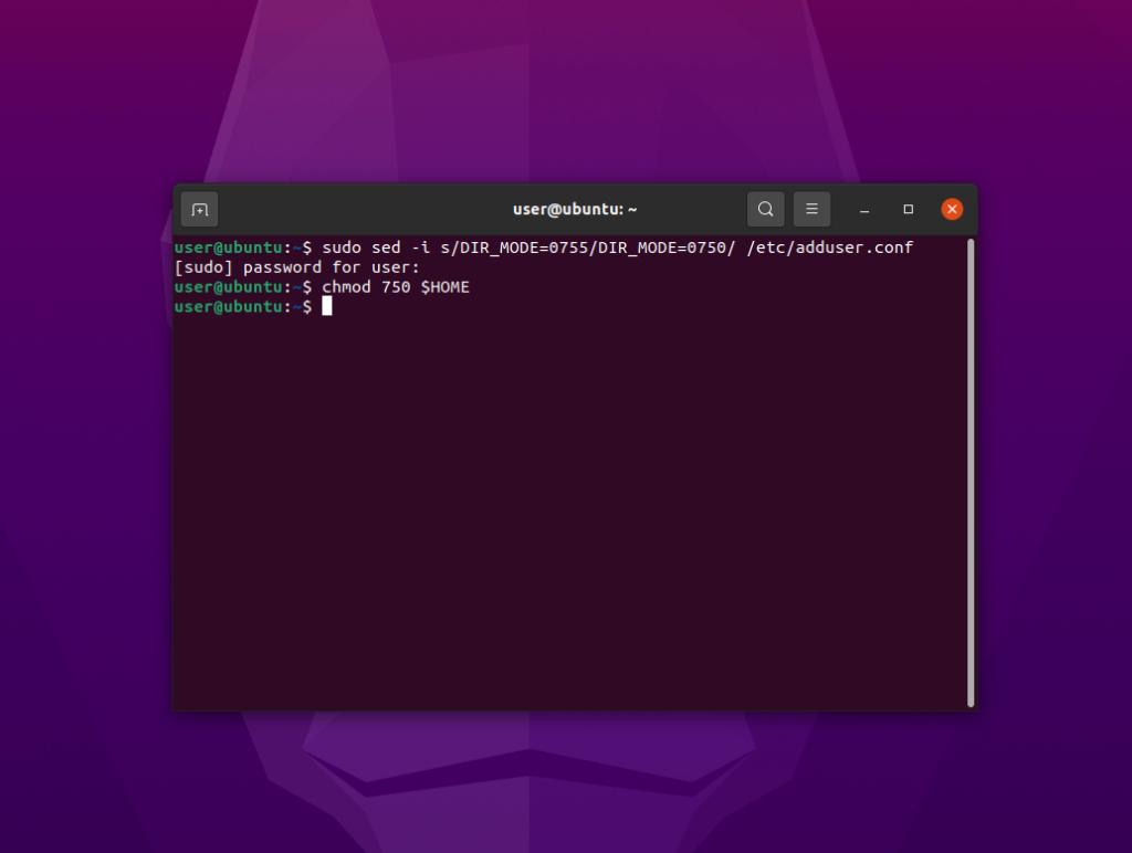 Ubuntu 21.04 Hirsute Hippo: la directory ~/Home sarà privata
