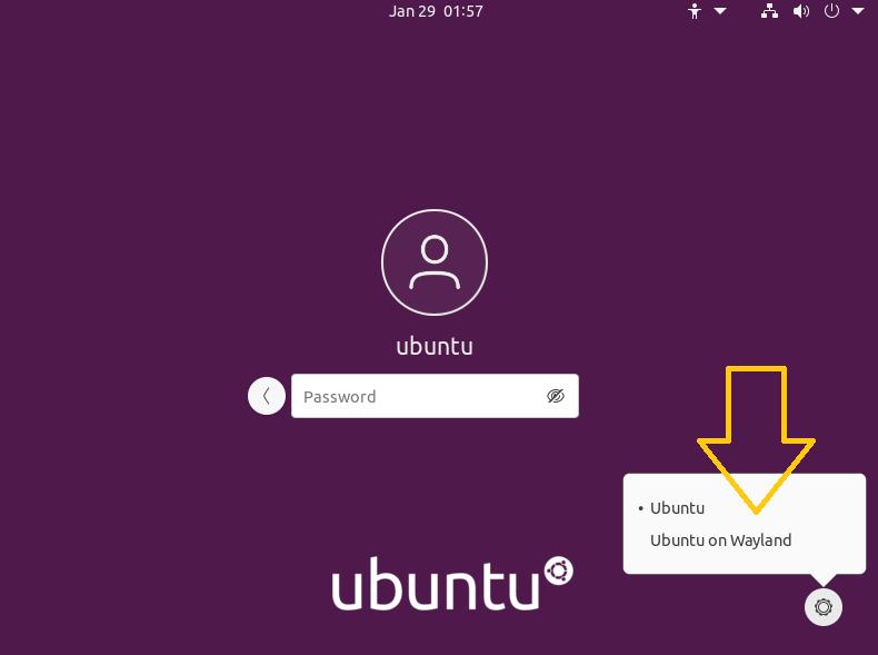 ubuntu 21.04 wayland