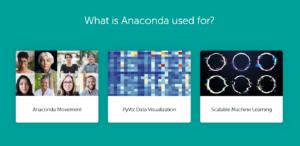 anaconda data science python r