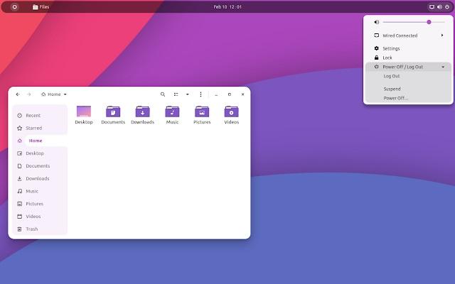 fluent light purple
