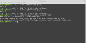 raspberry pi os microsoft repository