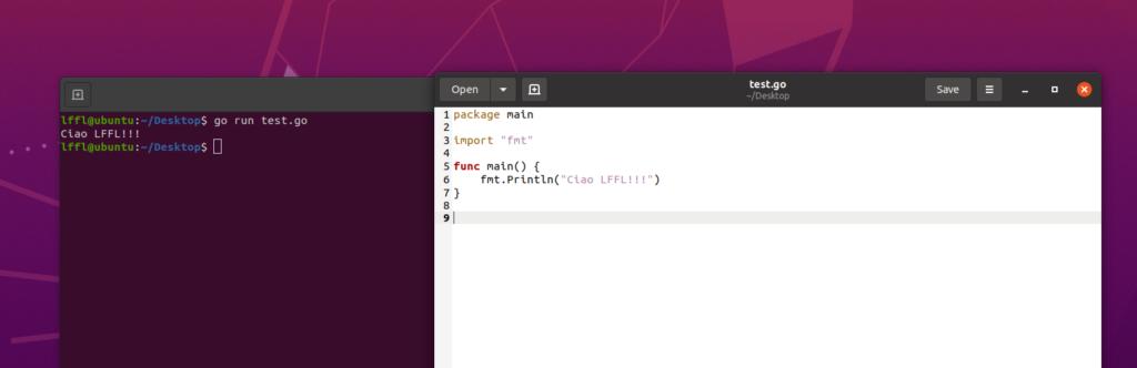 ubuntu go primo pgm