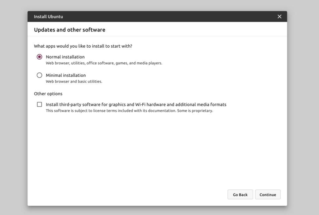 Ubuntu installer 4