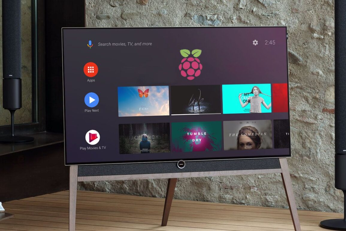 android tv raspberry pi os