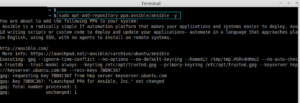 ansibile open source automation tool installation