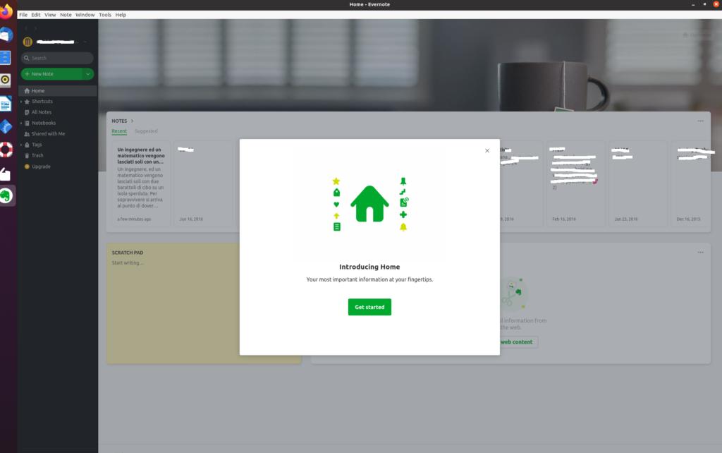 evernote app beta linux