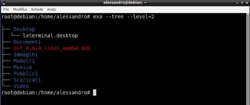 exa open source ls