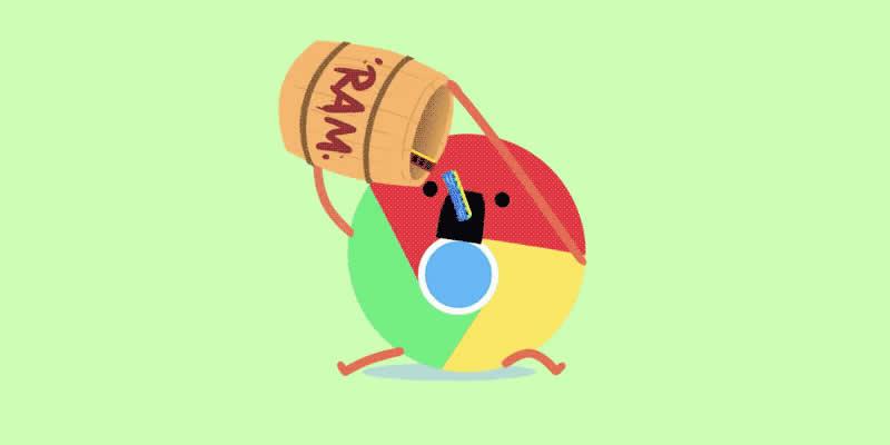 google chrome 89 ram