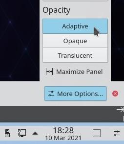kde plasma 5.21 adaptive