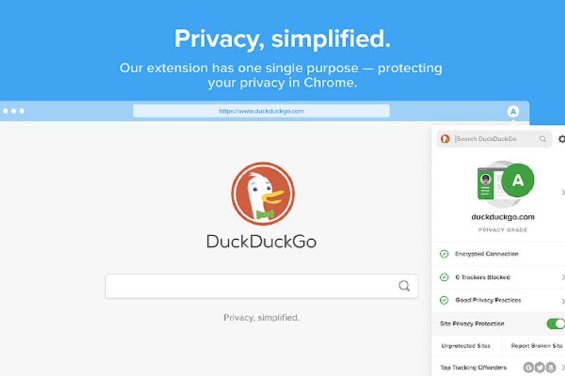 duckduckgo chrome extension privacy