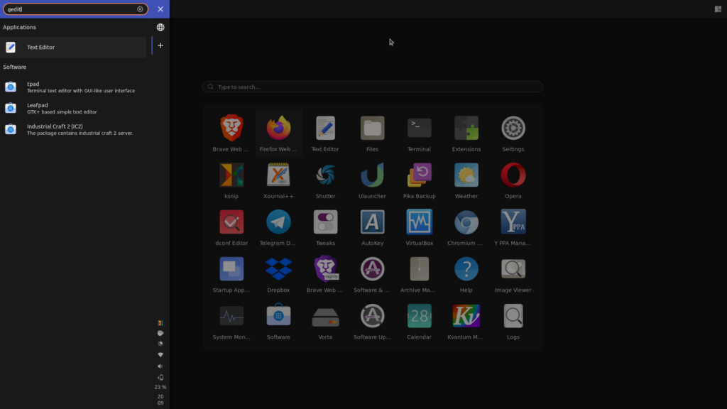 material-shell overview gnome shell