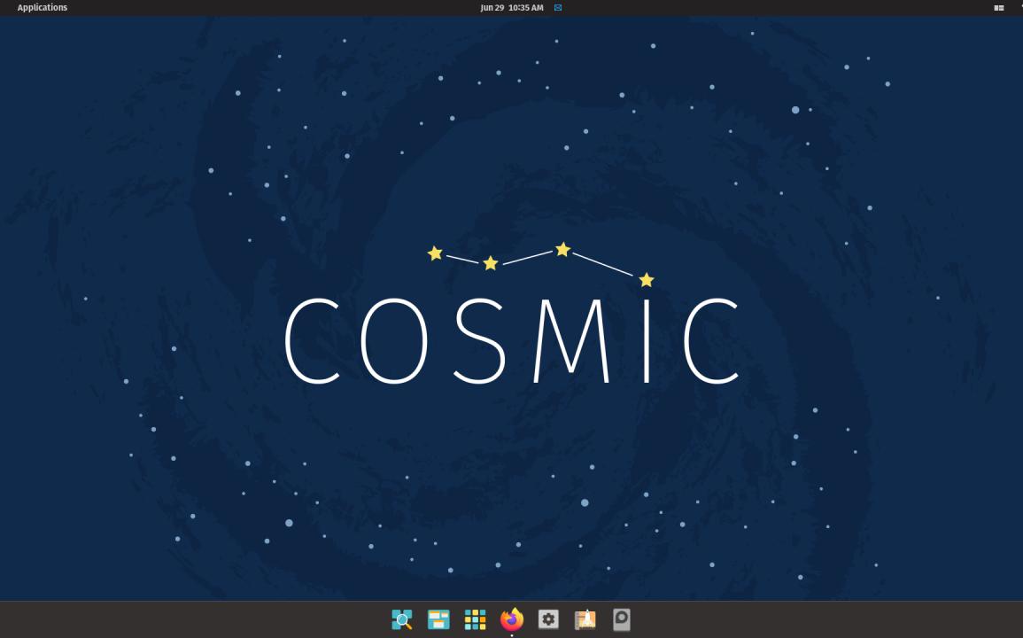 Pop!_OS 21.04 cosmic 1