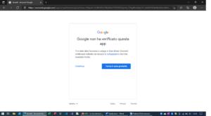 gphotos-sync google foto errore