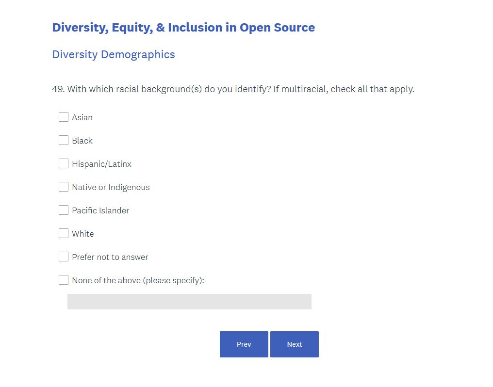 linux foundation sondaggio