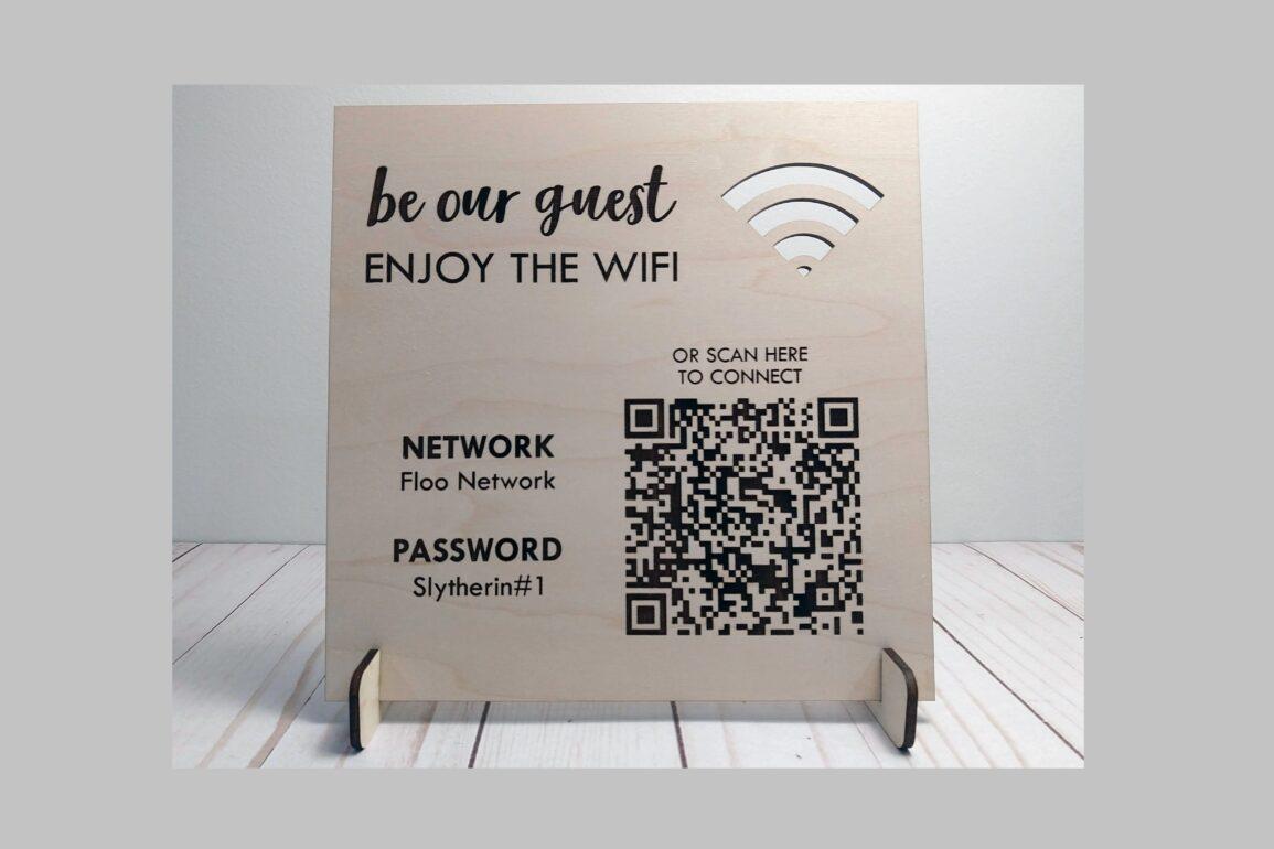 qr code wif card