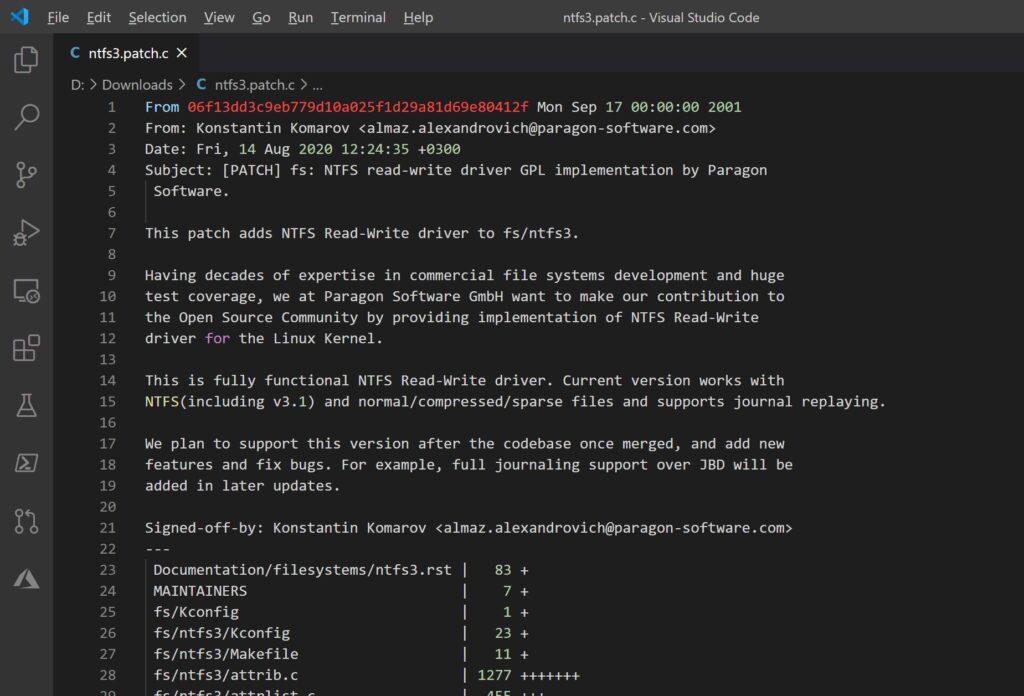 Linux, NTFS: il driver Paragon arriverà presto nel kernel