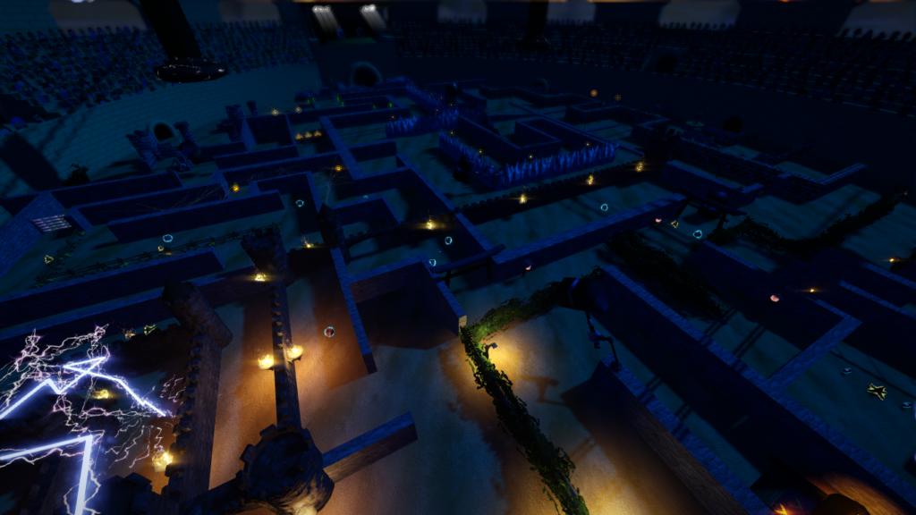 Ancient Colosseum Labyrinth