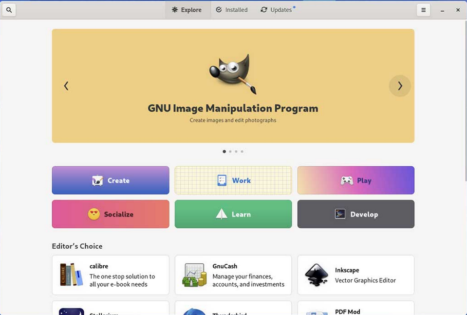 gnome 41 software Ubuntu 21.10