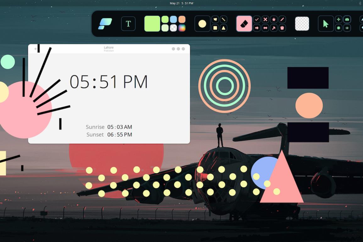 pensela open source desktop annotation tool