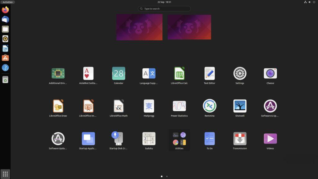 Ubuntu 21.10, disponibile la Beta: confermata la decisione Firefox-Snap