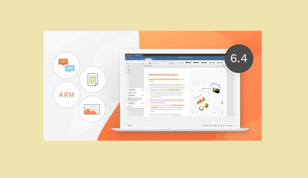 onlyoffice desktop editors 6.4